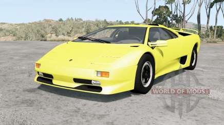 Lamborghini Diablo SV 1998 para BeamNG Drive