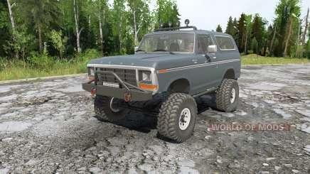 Ford Bronco para MudRunner