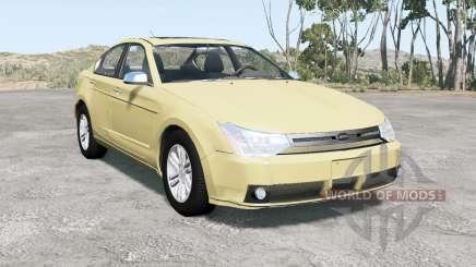 Ford Focus sedan (NA2) 2008 v1.1 para BeamNG Drive