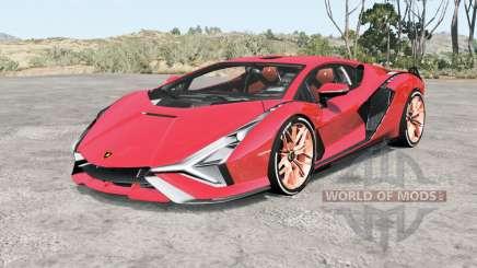Lamborghini Sian FKP 37 2019 para BeamNG Drive