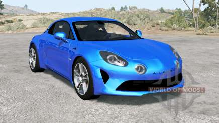 Alpine A110 Premiere Edition 2018 para BeamNG Drive