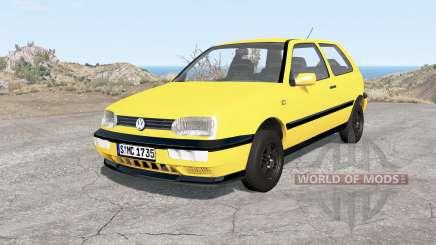 Volkswagen Golf 3-door (Typ 1H) 1995 para BeamNG Drive