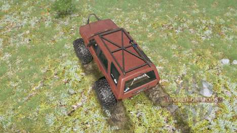 Toyota 4Runner (LN61) lifted para Spintires MudRunner