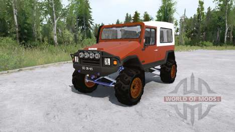 UMM Alter II lifted para Spintires MudRunner