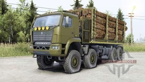 Kamaz-6560 para Spin Tires