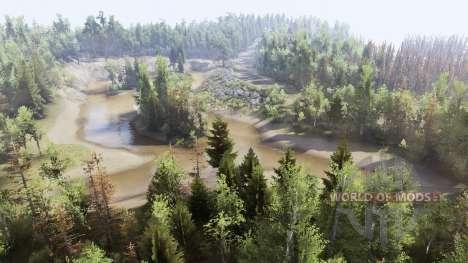 2 ríos para Spin Tires