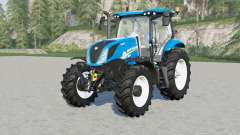 New Holland T6-seriꬴs para Farming Simulator 2017