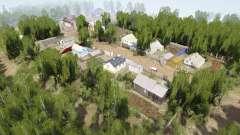 Ural 10: Village v1.1 para MudRunner