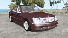 Mercedes-Benz S 600 (W220) 2005 para BeamNG Drive