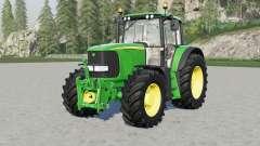 John Deere 6020-seriⱸs para Farming Simulator 2017