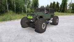 Jeep Wrangler crawler para MudRunner