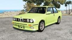 BMW M3 coupe (E30) 1990 v1.18 para BeamNG Drive