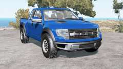 Ford F-150 SVT Raptor SuperCab 2013 para BeamNG Drive