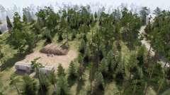 En el bosque de setas para MudRunner