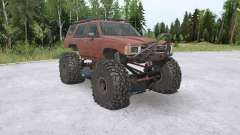 Toyota 4Runner (LN61) lifted para MudRunner