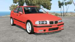 BMW M3 sedan (E36) 1997 v1.18 para BeamNG Drive