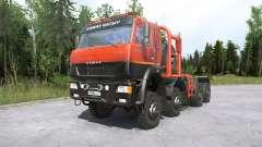 Kamaz-6522৪ para MudRunner