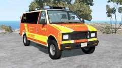 Gavril H-Series German Emergency para BeamNG Drive