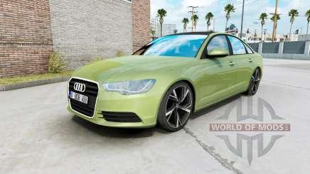 Audi A6 sedan (C7) 2011 para American Truck Simulator