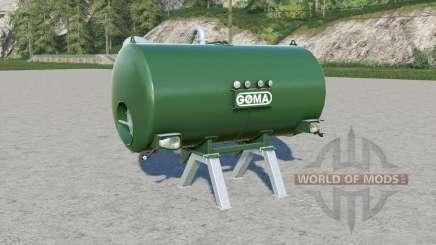 Goma manure tank para Farming Simulator 2017