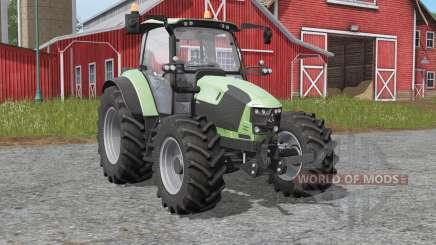 Deutz-Fahr 5110 TƮV para Farming Simulator 2017