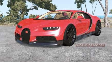 Bugatti Chiron 2016 v1.1 para BeamNG Drive