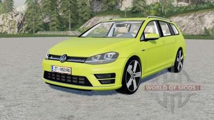 Volkswagen Golf R Variant (Typ 5G) 2015 para Farming Simulator 2017