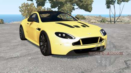 Aston Martin V12 Vantage S 2013 v2.0 para BeamNG Drive