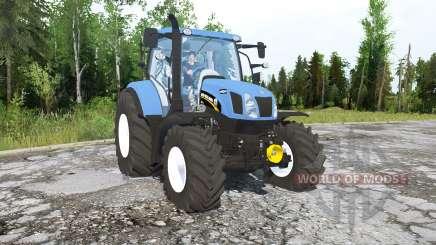 New Holland T6.160 para MudRunner