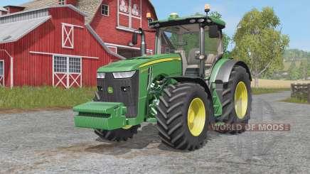 John Deere 8R-seʀies para Farming Simulator 2017