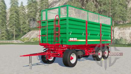 Metaltech DB 6〡8〡10〡12〡14〡20 para Farming Simulator 2017