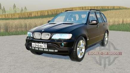 BMW X5 4.4i (E53) 2001 para Farming Simulator 2017