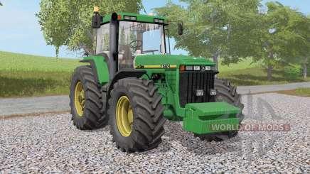 John Deere 8400 & 8Ꝝ10 para Farming Simulator 2017