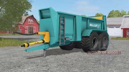 Rolland Rolltwin 205 para Farming Simulator 2017
