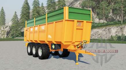 Dangreville dump trailers para Farming Simulator 2017