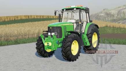 John Deere 6020-seriᶒs para Farming Simulator 2017