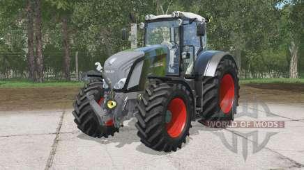 Fendt 828 Vario Black Beautɤ para Farming Simulator 2015