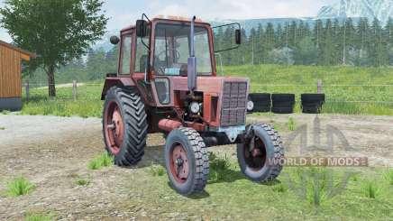 MTH-80 Belaruꞔ para Farming Simulator 2013