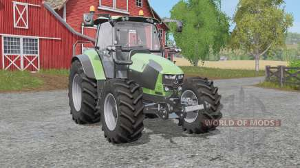Deutz-Fahr 5110 TƬV para Farming Simulator 2017