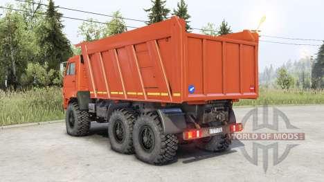 Kamaz 65222 para Spin Tires