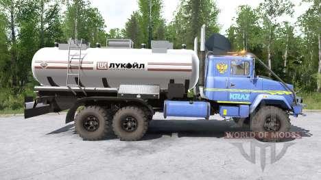 KRAz-63221 para Spintires MudRunner
