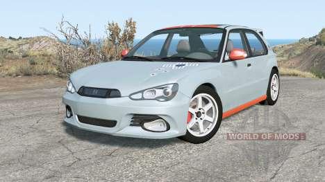 Hirochi Sunburst hatchback v1.15 para BeamNG Drive