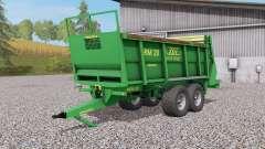 ZDT RM Ձ0 para Farming Simulator 2017