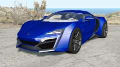 Lykan HyperSport 2014 para BeamNG Drive