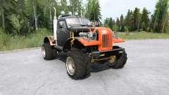 Vehículo todoterreno Sil-157 para MudRunner