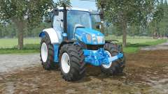 New Holland T6.160 colored in ford colors para Farming Simulator 2015