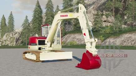 Volvo ECR88Ɗ para Farming Simulator 2017