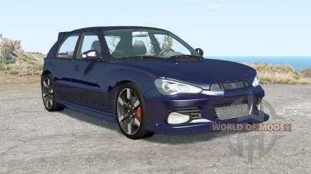 Hirochi Sunburst hatchback v1.16 para BeamNG Drive
