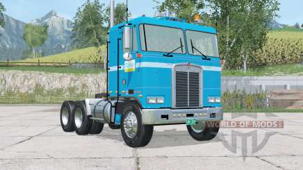 Kenworth K100 Risbergs Truck Line para Farming Simulator 2015