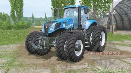 Nueva Hollaᶇd T8.320 para Farming Simulator 2015